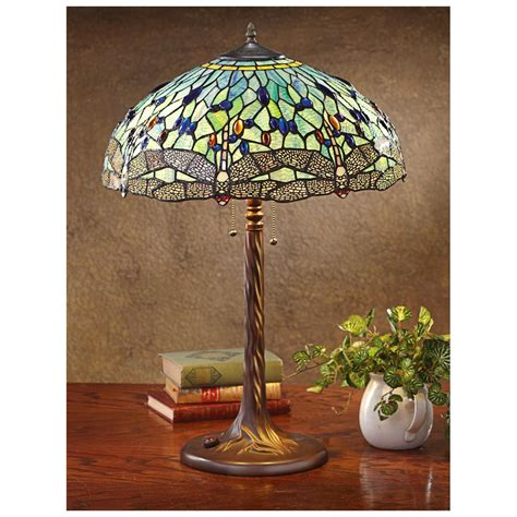 tiffany dragonfly table l dragonfly tiffany style table l 581821 lighting at