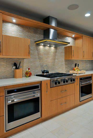 two wall kitchen design green kitchen design eco friendly bamboo kitchens 6439