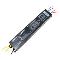 sylvania 32w t8 fluorescent 2 l electronic ballast