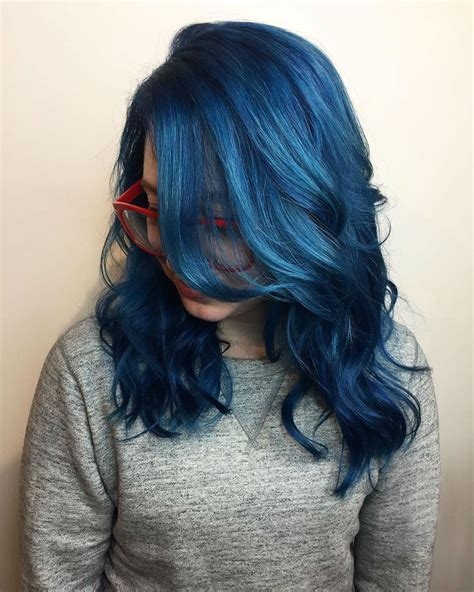 Pin By Newaylook On Newaylook Hair Styles Dark Blue