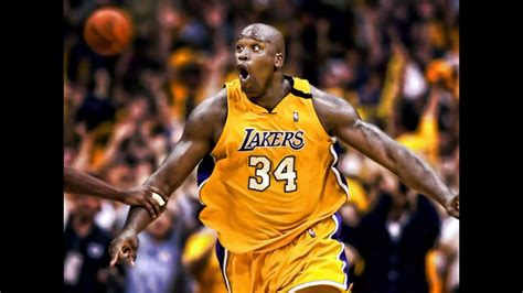 shaqs  lakers highlights memories  moments youtube