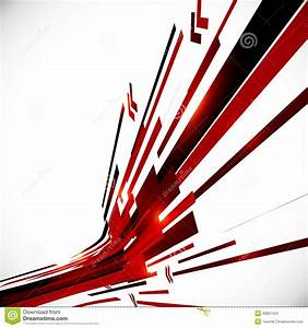 Abstract Red And Black Shining Lines Background Stock ...