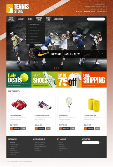 sports templates 10 best sports opencart website templates themes free premium templates