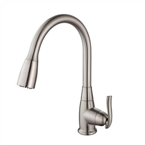 kraus faucets home depot kraus nickel pull faucet nickel kraus pull faucet