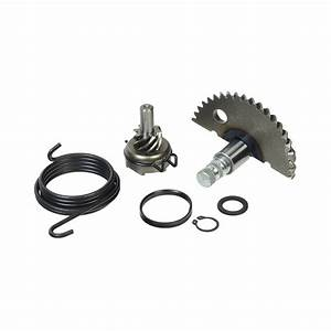 Kick Start Shaft  U0026 Gear Assembly For 50cc Gy6 139qmb