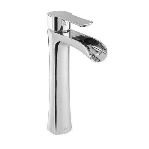vigo vessel sink single faucet vigo niko single single handle vessel bathroom faucet