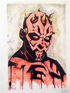 Darth Maul by Bumble-Pop on DeviantArt