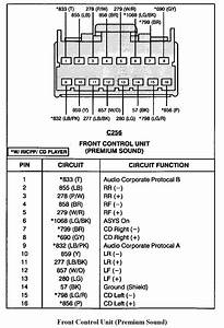 2004 Ford Explorer Sport Trac Stereo Wiring Diagram