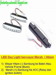 Wiring Lampu Led Kereta  Diy Lampu Neon Led Strip Pada