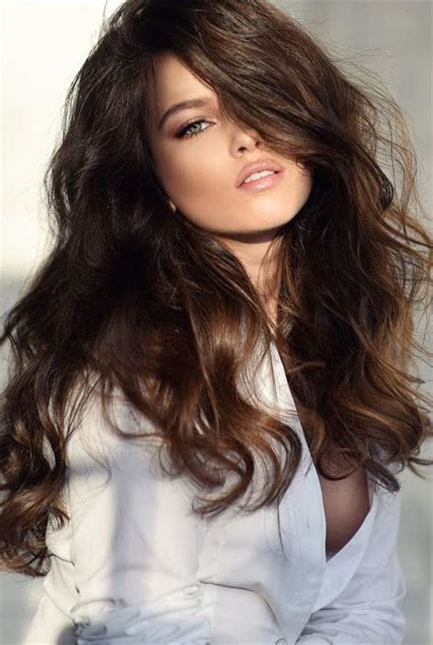 Beautiful Brown Hair by Brown Hair Shiny Healthy Just Like Mine