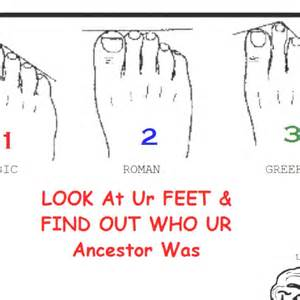 Find Your Ancestry Feet
