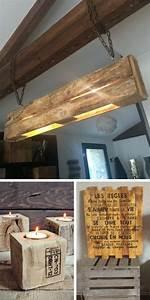 Objet Deco Industrielle : la m ga liste des objets d co fabriquer en palette palette pinterest ~ Teatrodelosmanantiales.com Idées de Décoration