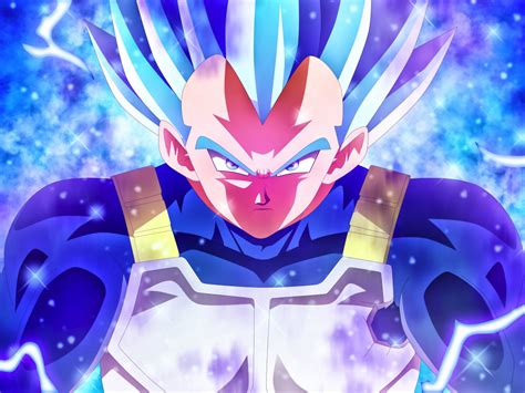 desktop wallpaper super saiyan blue vegeta dragon ball