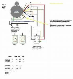 Century Ac Motor Wiring Diagram 115 230 Volts