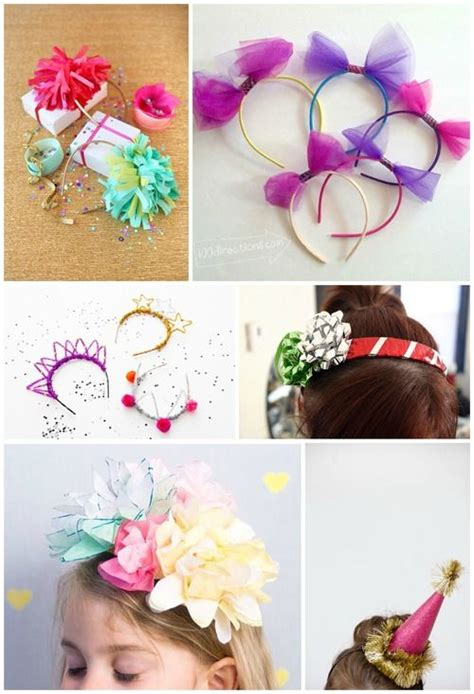 8 Cheery Diy Party Headbands Fun To Make For New Year's