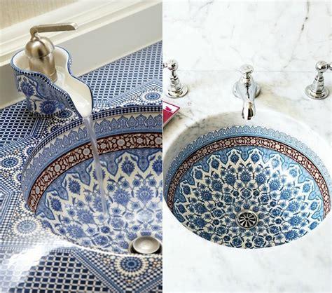 vasque marocaine salle de bain salle de bain marocaine 20 id 233 es sur les incontournables d 233 co 224 adopter