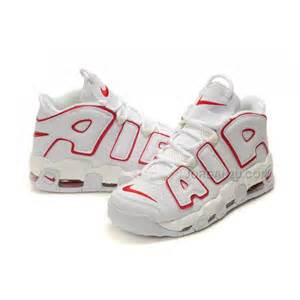 Nike Air More Up-Tempo White Red