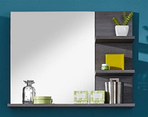 Bathroom Mirrors Miami by Furnline Bathroom Mirror With Shelf Miami White Melamine
