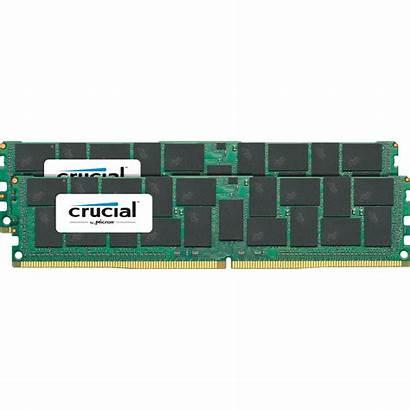 Ddr4 2400 64gb Crucial Mhz Dimm 128gb