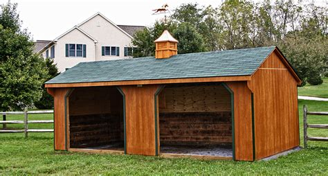 Run In Shed For Horses run in sheds run in sheds shelters