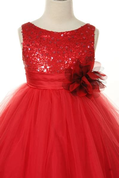 glitter tulle sequin sparkle flower girl dress  rose