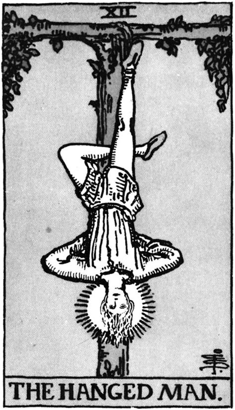 The Hanged Man Art and Meaning: Queen of Tarot