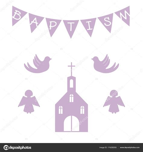 Imágenes: invitacion bautizo plantilla plantilla de