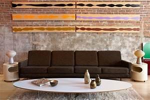 deco loft salon mur brique picslovin With deco mur brique salon