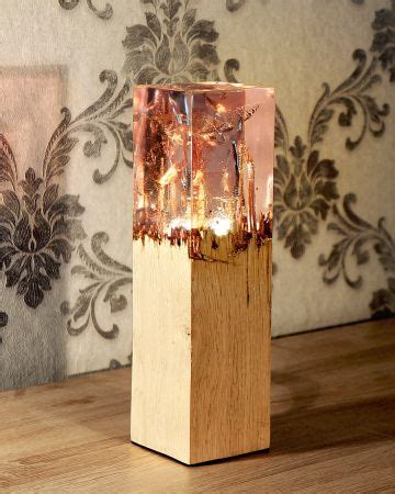 wood  acrylic lamp handcrafted lamp lamp