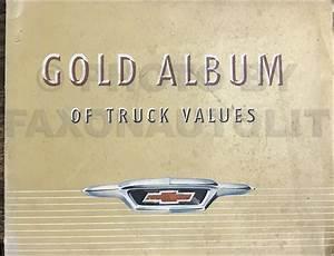 1955 Chevrolet Pickup  U0026 Truck 2nd Series Reprint Owner U0026 39 S