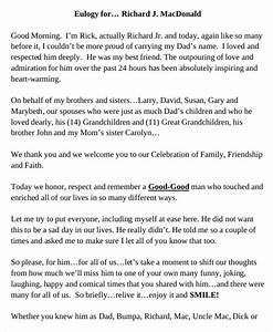 eulogy example for brother motaveracom With eulogy template for brother
