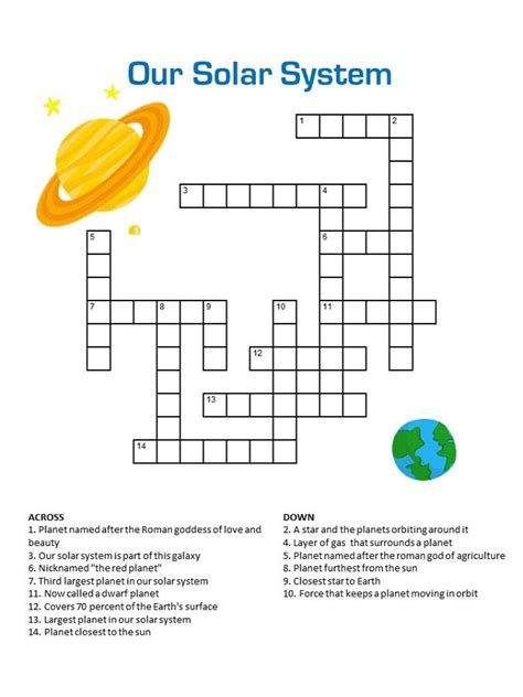 crossword puzzles  middle school coloring sheets