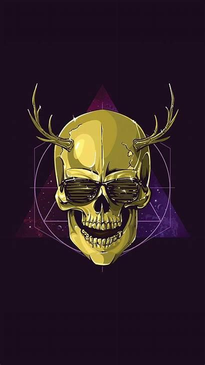 Skull Wallpapers Smartphone Phones Mobile Cave