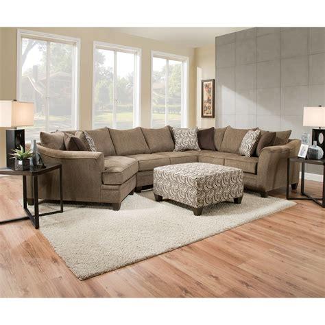 Simmons Upholstery 6485 6485wedgearmlesslvseatsofa