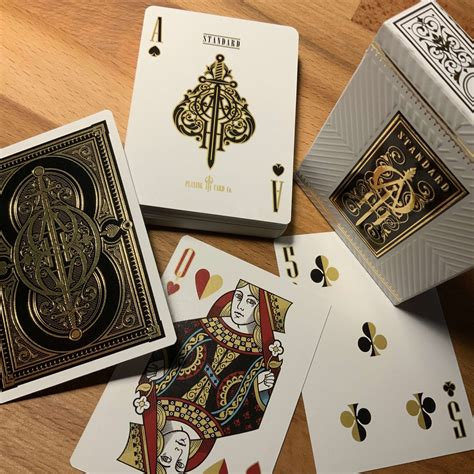 Printed by the united states playing card company on o Oath Standard Playing Cards   LUXURY PLAYING CARDS, JP GAMES LTD