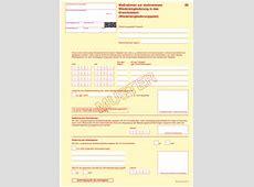 KBV Verordnungsformulare bei Arbeitsunfähigkeit
