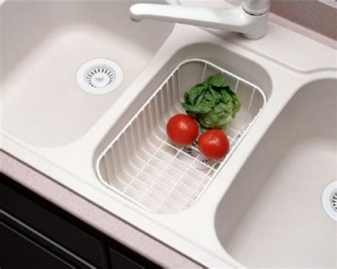 kitchen sink baskets white swanstone wb 22 small kitchen sink wire basket white 5648