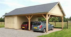 Garage Voiture En Bois : garages en bois ou carport pour les voitures 1 2 tout sur garage en bois ~ Dallasstarsshop.com Idées de Décoration