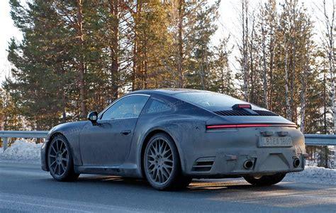 Porsche 911 992 Generation Spy Shots And First Details