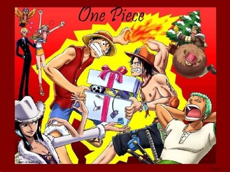 One Piece Christmas By Spacmace