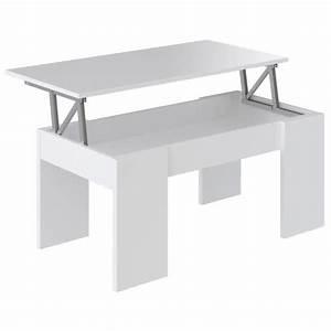 Table Basse Relevable Pas Cher : table basse achat vente table basse pas cher cdiscount ~ Teatrodelosmanantiales.com Idées de Décoration
