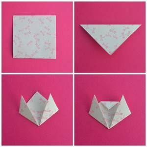 Faire Des Origami : marque page en origami les petits chats maman tout faire ~ Nature-et-papiers.com Idées de Décoration