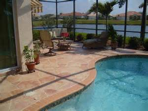 concrete resurfacing is the best way to replace you driveway or pool deck in sarasota longboat
