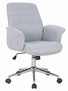 Bürostuhl Mit Armlehne : b rostuhl schreibtischstuhl drehstuhl stoff grau real ~ Whattoseeinmadrid.com Haus und Dekorationen