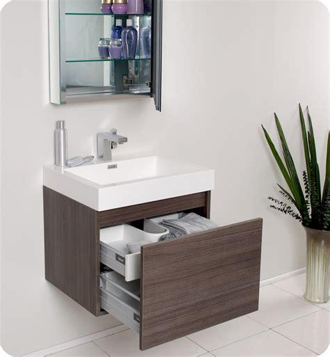 oak bathroom vanity cabinets fresca nano gray oak modern bathroom vanity