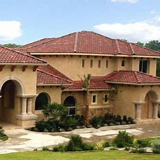 """12 """"mediterranean Style"""" Stucco House Examples"""