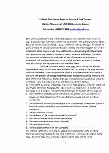 Argument Essay Thesis Quotes On International Yoga Day Apa Style Sample Essay Computer Science Essay also Persuasive Essay Papers Essays On Yoga Undergraduate Dissertation Structure Essays On Yoga  English 101 Essay