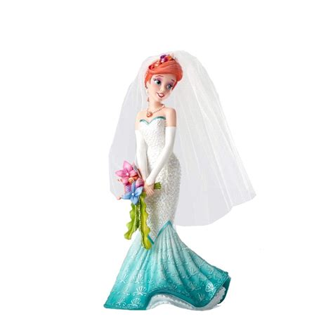 Disney Discovery  Princess Ariel Wedding Dress Figurine
