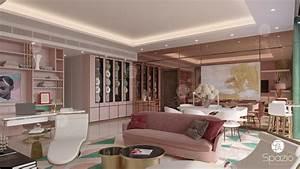 Modern, Apartment, Interior, Design, In, Dubai