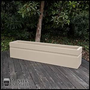 Arroyo Large Rectangle Planter, Commercial Outdoor ...